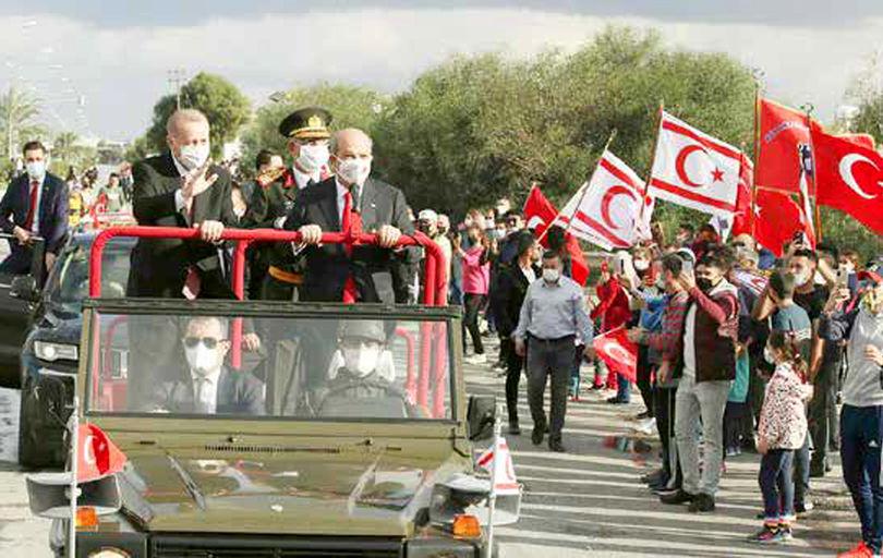 کشورگشایی جدید اردوغان در نیکوزیا