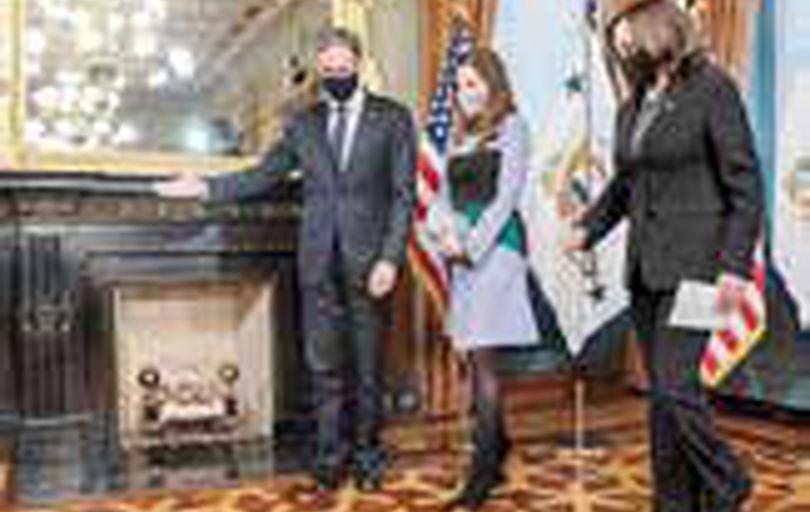 کاملا هریس در حال ایفای نقشی نامحسوس علیه ایران است؟