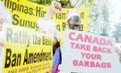 بازگشت کشتیهای زباله کانادا به مبدأ