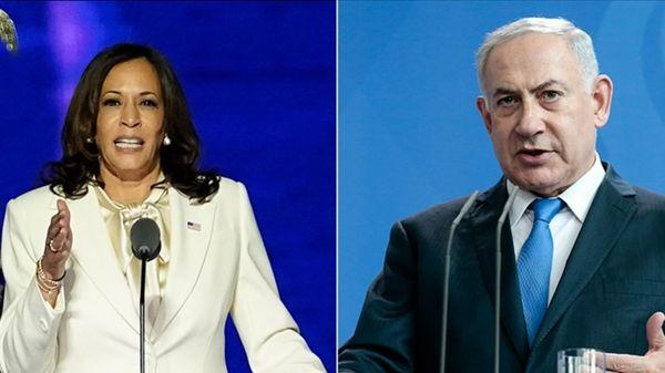 حمایت هریس از اسرائیل در تماس تلفنی با نتانیاهو