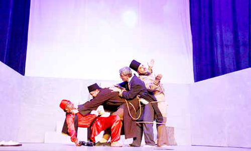 نمایش ایرانی، یک عبارت گنگ و مبهم