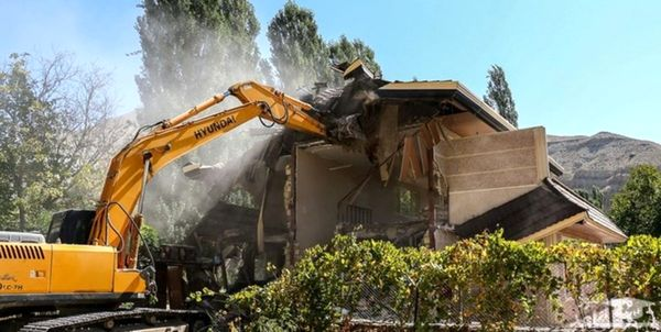 تخریب ۵۰ ویلای غیرمجاز در شهریار