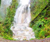 شیرگاه مازندران و آبشار آهکی اسکلیم