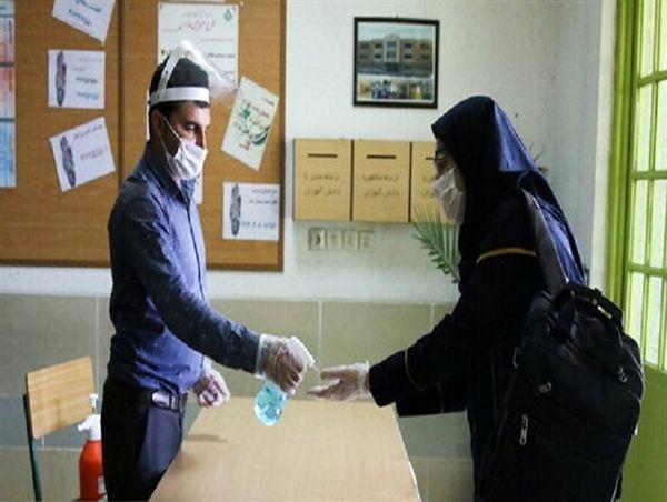 دانشآموزان مبتلا یا مشکوک به کرونا در فضای قرنطینه امتحان میدهند