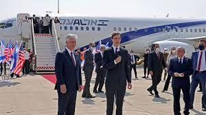 سفر هیات اسرائیلی -آمریکایی به ابوظبی با اولین پرواز مستقیم