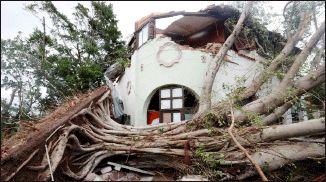 توفان کوبا را  در هم کوبید