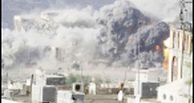 عربستان ۳۹ بار یمن را بمباران کرد