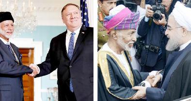 عمان، بازیگردان دیپلماتیک خاورمیانه
