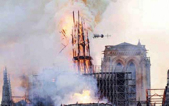 افزایش امیدها برای بازسازی کلیسای سوخته