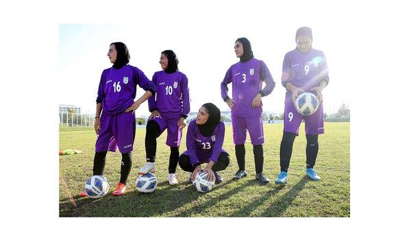 برد پرگل دختران فوتبال مقابل بنگلادش
