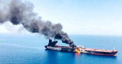 جنگ چهار به یک بر سر نفتکش اسرائیلی