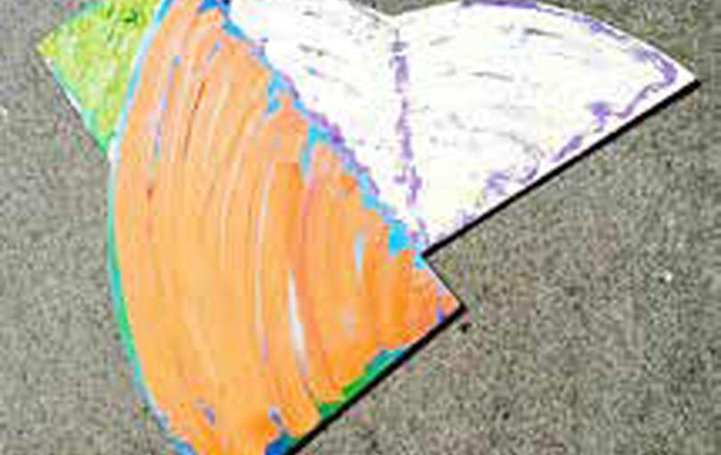 نقاشی با ضرباهنگ شکل و رنگ