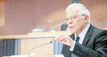 دیدار با پمپئو و تاکید بر عملگرایی اروپا