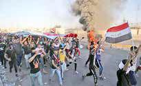 ممانعت نیروهای امنیتی از ورود معترضان به بغداد