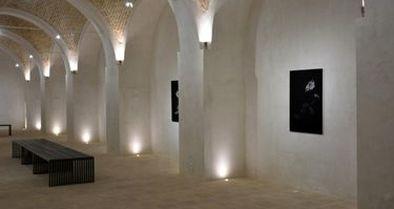 نمایشگاه عکس هنرمند ایتالیایی در هشتچشمه کاشان