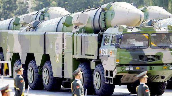 احتمال شکلگیری رقابت تسلیحاتی آمریکا-چین