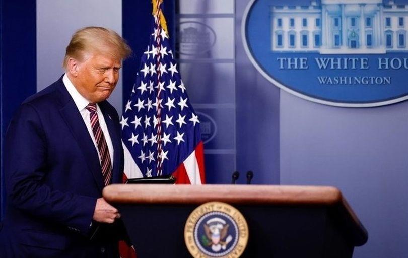 ترامپ: پیروزی بایدن تایید شود، از کاخ سفید میروم