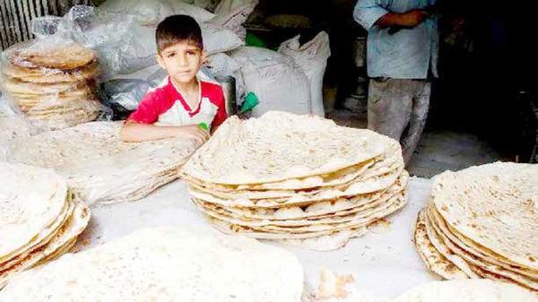 دهکهای پایین، متضرران اصلی افزایش قیمت نان هستند