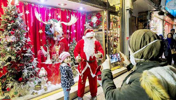 کریسمس در میانه محدودیتهای کرونا و گرانی