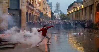 اعتراضات در ۳ شهر لبنان، 30 زخمی به جا گذاشت