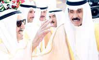 در پی بستری شدن امیر کویت، ولیعهد این کشور عهدهدار امور شد!