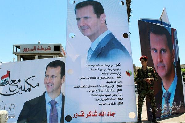 اسد در برابر اسد!