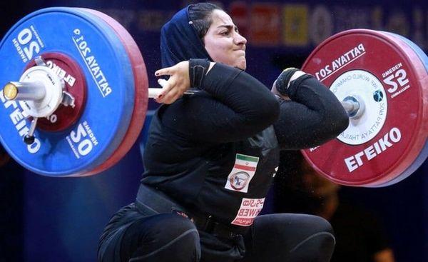 تصمیم غیرتخصصی فدراسیون برای بانوی وزنهبردار