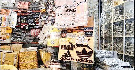 جلوهگری برندهای خارجی تقلبی در بازار پوشاک