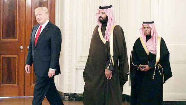 ریاض؛ تختهگاز پشت سر ترامپ