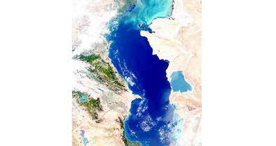 کاهش ۵ تا ۱۰ سانتیمتری تراز آب دریای خزر