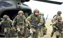 خروج نیروهای انگلیسی از پایگاه التاجی عراق