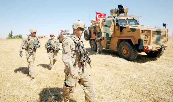 تشکیل کمربند امنیتی برای تروریستها