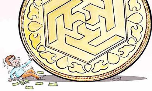 گرفتار در بهای متلاطم سکه و بیپولی مردان