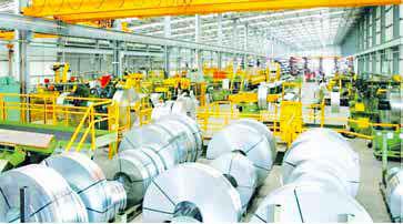 تولید محصولات سرد نوردیده سخت و نیمسخت در فولاد مبارکه