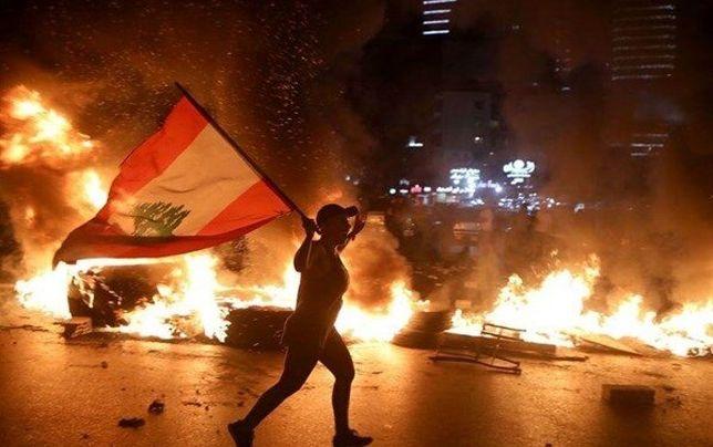 اعتراضات معیشتی در لبنان برای سومین روز متوالی