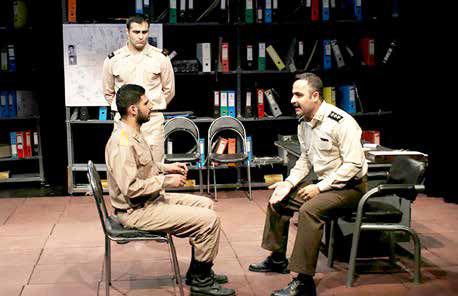 نفس تئاتر به جوانان بسته است