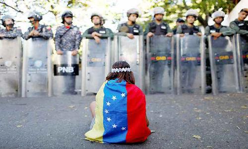 قطببندی قدرتها در کاراکاس!