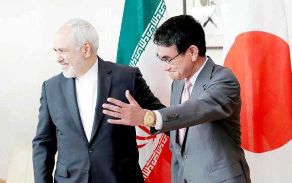 دیدار وزرای امور خارجه ایران و ژاپن