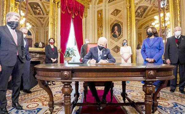 زدودن میراث سیاسی ترامپ از کاخ سفید