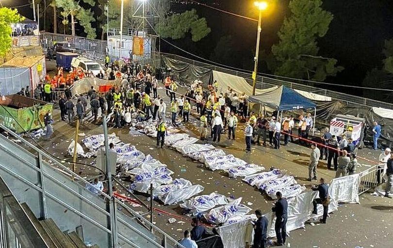 مرگ دهها نفر در یک مراسم مذهبی در اسرائیل