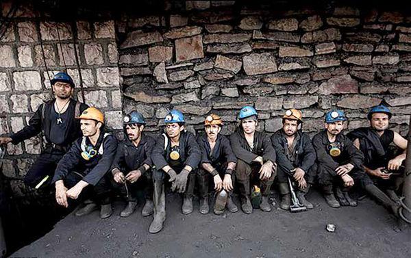 کارگران زغالسنگ کرمان نگرانند