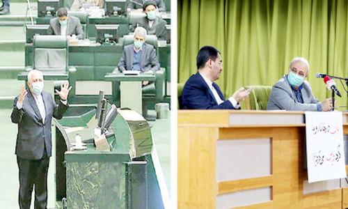 روز  هجمه های هیجانی نمایندگان علیه ظریف