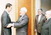 توافق ایران و روسیه برای استعفای اسد شایعه است