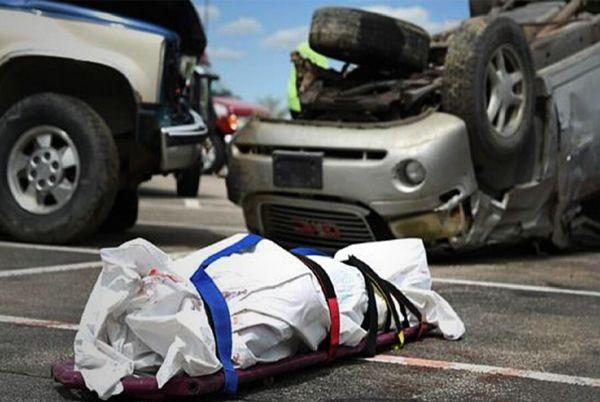 مرگ ۲۵۹۶ نفر بر اثر حوادث رانندگی در کشور