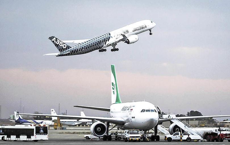 ورود هواپیماهای جدید در دوره تحریم