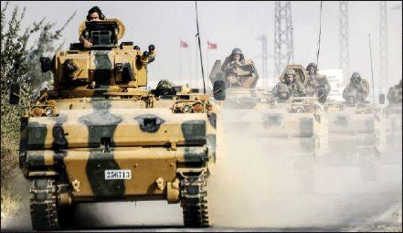 نظامیان ترکیه آماده تهاجم به سوریه هستند