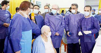 آغاز تزریق واکسن کرونا به ۲۰ هزار سالمند و معلول