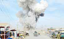کشته شدن 57 نظامی افغانستان توسط طالبان
