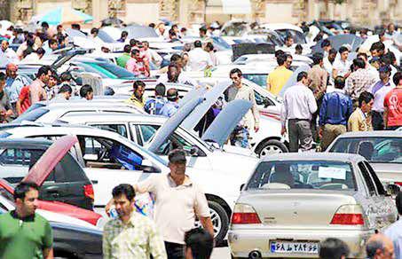سقوط آزاد قیمت در بازار خودروی تهران