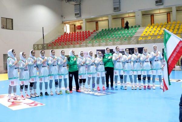 صعود تیم هندبال بانوان ایران به مسابقات جهانی